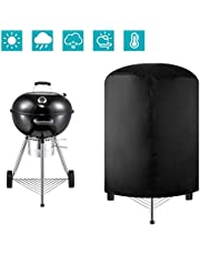 Formizon Afdekhoes voor barbecue, 420D Oxford-weefsel, waterdicht BBQ cover, kogelbarbecue, zwart (75 x 70 cm)