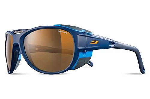Julbo Explorer 2.0 Sunglasses, Matt Blue/Blue with Cameleon Lenses