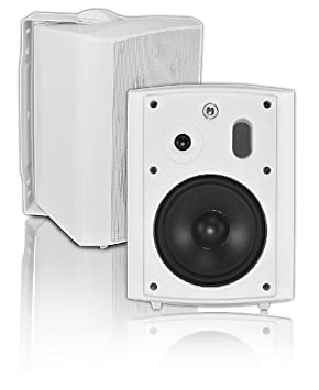 OSD Audio AP640T-Wht 6.5-Inch 2 Way 8 Ohm/70V Commercial Indoor/Outdoor Speaker (White)
