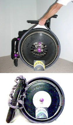 wheelchair tire covers - 3