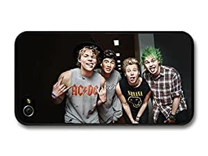 AMAF ? Accessories 5 Seconds Of Summer Funny Faces Boyband case for iPhone 5c