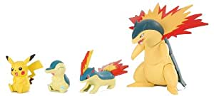 Pokemon Evolutionary Stages JAPANESE Snap Together Model Kit Cyndaquil (japan import)