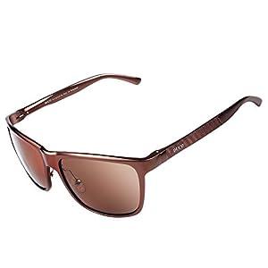 Duco Unisex Wayfarer Style Polarized Sunglasses Fashion Rimmed Glasses UV 400 8200