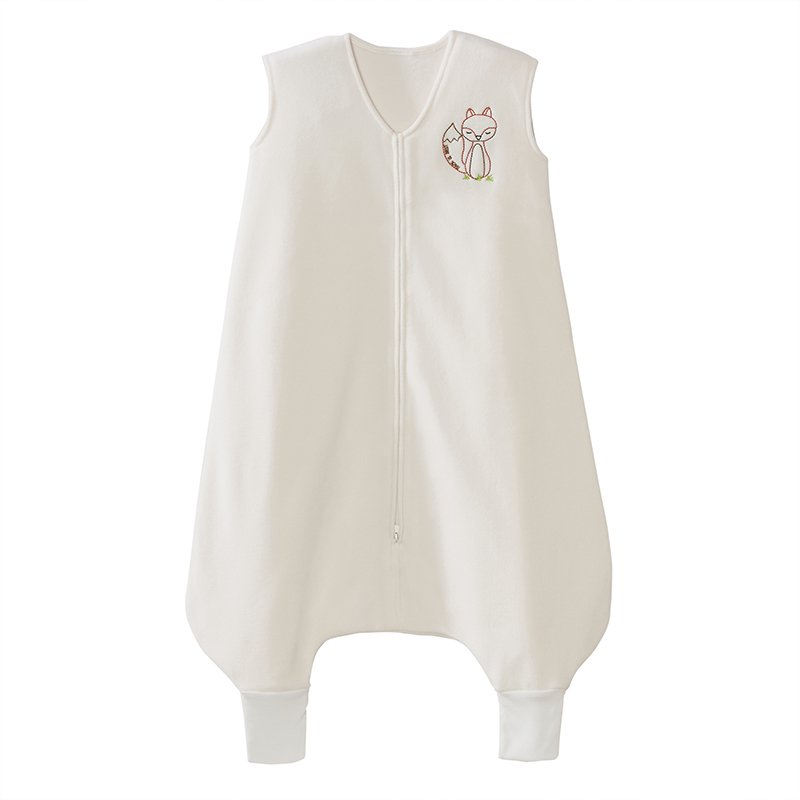 Halo Early Walker Sleepsack Wearable Blanket Micro-fleece With Fox, Cream, Large HALO Innovations 12211