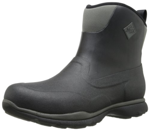 Muck Boot Men's Excursion Pro Mid Black/Gunmetal  Outdoor Boot - 10 D(M) US