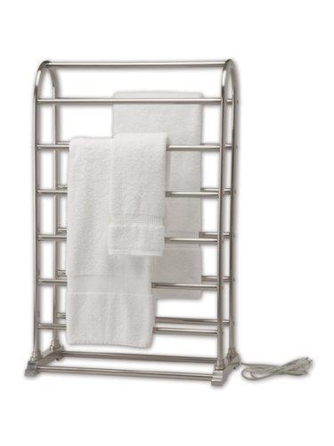 UPC 695936410315, Warmrails Vauxhall Freestanding Towel Warmer and Drying Rack, Chrome