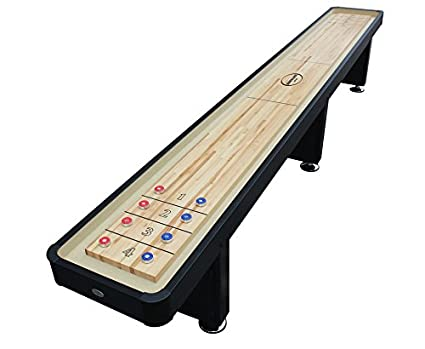 Amazoncom Berner Billiards The Standard Foot Shuffleboard - Standard shuffleboard table