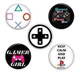 Video Game Gamer Magnets: Cute Locker Magnets for