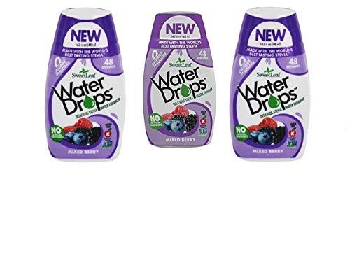 Sweetleaf Water Drops 1.62 fl.oz. 3 Pack (Mixed Berry)