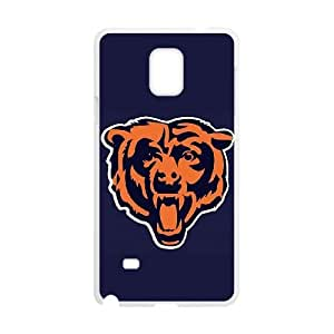 Chicago Bears Samsung Galaxy Note 4 Cell Phone Case White 218y3-118741