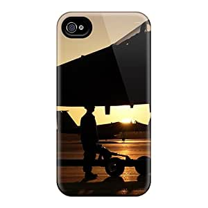 BeautyEmotion Perfect Tpu Case For Iphone 4/4s/ Anti-scratch Protector Case (on The Aircraft Carrier)