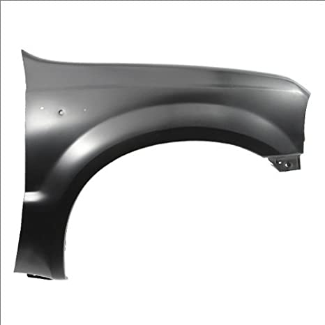 Partslink Number FO1241208 OE Replacement Ford Excursion//Super Duty Front Passenger Side Fender Assembly