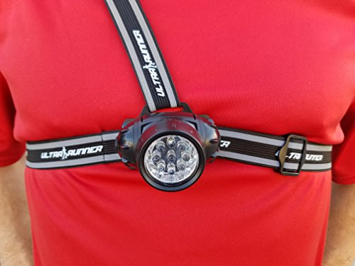 Runner's Goal X35 LED Dog Walking Light Chest Running Light Comfortable Alternative to Running Headlamps for Jogging, Walking, Hiking & More