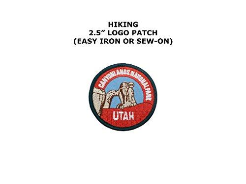 Canyon Lands National Park Utah Embroidered Iron/Sew-on Comic Cartoon Theme Logo - Sun Land Park