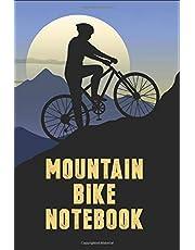 "Mountain Bike Notebook: Lined Journal MTB Notebook (120 Pages, 6""x9"")   A Cool Mountain Bike Journal who Love Cycling   Great Gift ideas for Women, Men, Mountain Bikers"