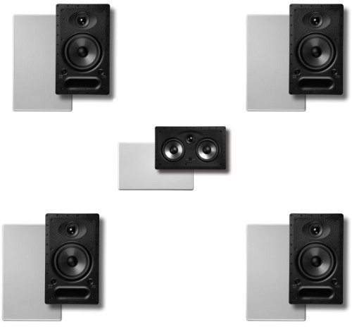 Polk In-wall Surround System: Pair of 65-rt, One 2...