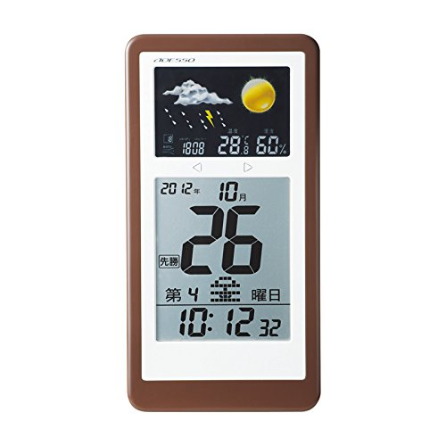 Himekuri weather radio clock TCA-077
