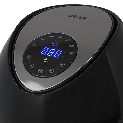 Eight24hours Oil-Less Digital Touch Screen Electric Air Fryer
