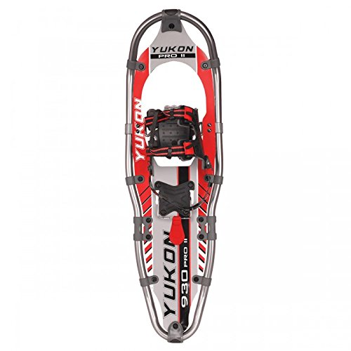 Yukon Charlie's Pro II Series Snowshoe - Mens 9x30 (up to 250 lbs) - Red by Yukon Charlie's