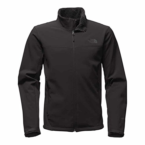 North Face Running Jacket (The North Face Apex Chromium Thermal Soft Shell Jacket - Small/TNF Black-TNF Black)