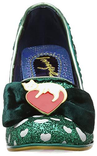 green Dream C Choice Femme Fermé Vert Bout Escarpins Lover Irregular 7a8Fq8