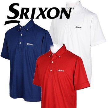 ダンロップ SRIXON スリクソン 半袖 ボタンダウン ポロシャツ 9151071