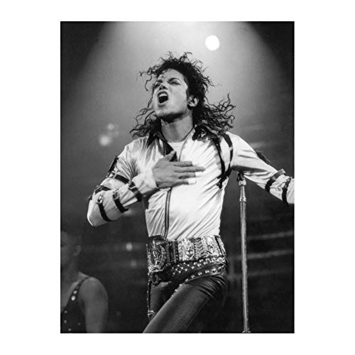 Michael Jackson Music Super Star Art Poster Print Wall Decor 24x36 Inches Photo Paper Material Unframed