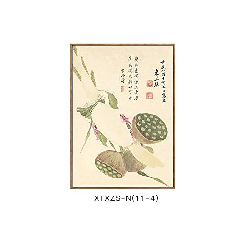 Moderne botanische Schlafzimmermalerei Wohnzimmerdekorationsmalerei Chinesische Malerei und Elegante Wandmalerei Elegante Blumenmustermalerei DEED D Dekorative 5tqApwn