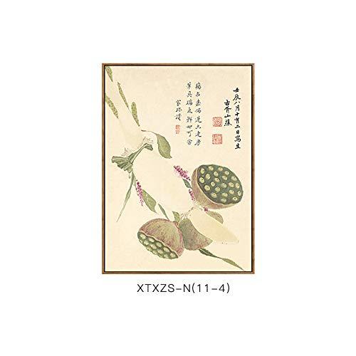 botanische Schlafzimmermalerei Elegante Dekorative Moderne DEED Blumenmustermalerei Wohnzimmerdekorationsmalerei D und Chinesische Malerei Elegante Wandmalerei wZ4Ztnzqxg