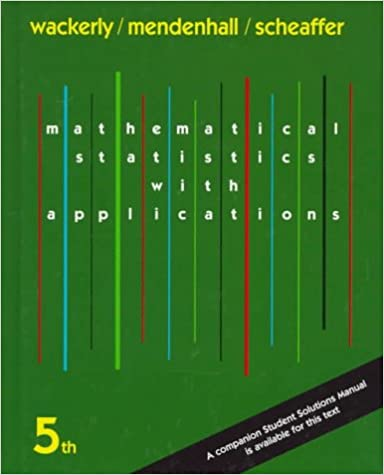 Amazon com: Mathematical Statistics with Applications