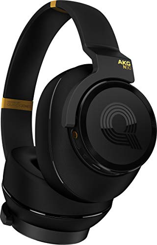 (AKG N90Q Reference Class Auto-Calibrating Noise Cancelling Headphones -)