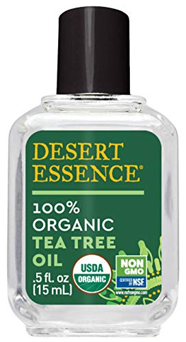 Desert Essence Organic Tea Tree Oil, 0.5 Ounce
