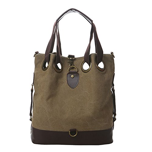 Haiti Womens Canvas Hobo Handbags Shoulder Bag Tote Bag