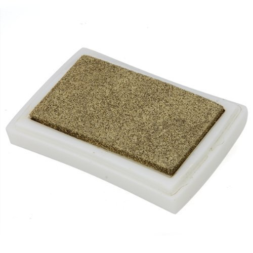 Home Mart Gold rubber stamp ink pad stamp pad stamp