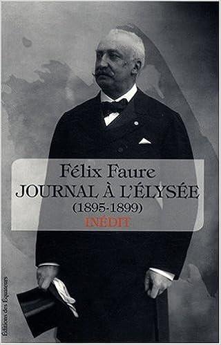 Lire un Journal à l'Elysée (1895-1899) pdf, epub ebook