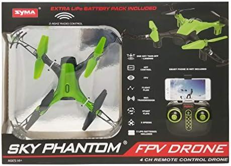 Sky Phantom B07H4ZCHRN FPV Drone 4CH - Mando a Distancia, Color ...