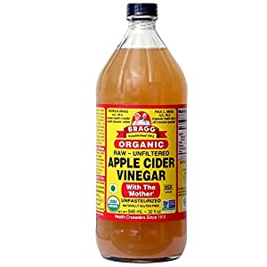 Bragg Organic Raw Apple Cider Vinegar, 32 Ounce - 1 Pack
