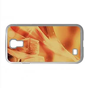 Fire Cubes Watercolor style Cover Samsung Galaxy S4 I9500 Case (Summer Watercolor style Cover Samsung Galaxy S4 I9500 Case)