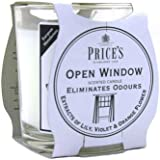Prices Patent Candles Open Window Jar
