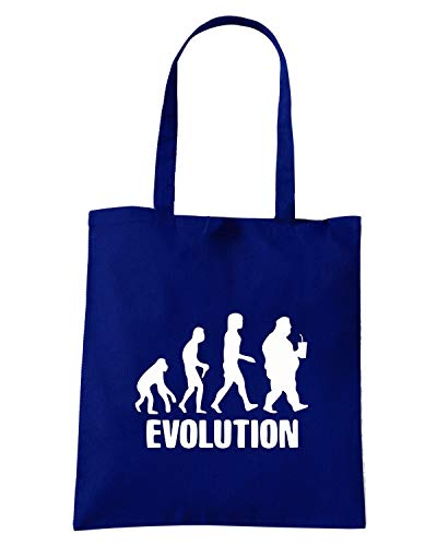 Shirt Borsa MAN Blu EVO0042 Shopper EVOLUTION Speed Navy wzgqdFwZ