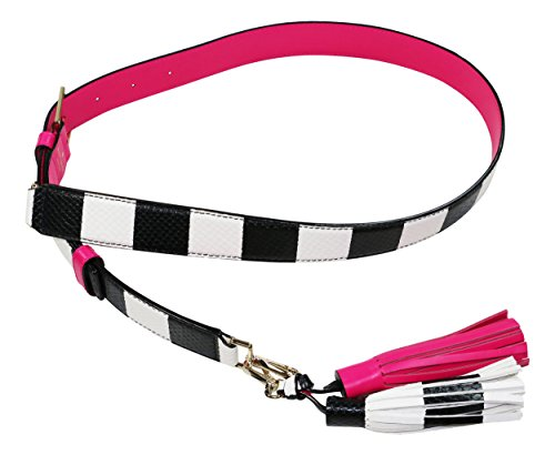 - Kate Spade New York Women's Guitar Strap + Tassel Pack, Pink Confetti Multi, One Size