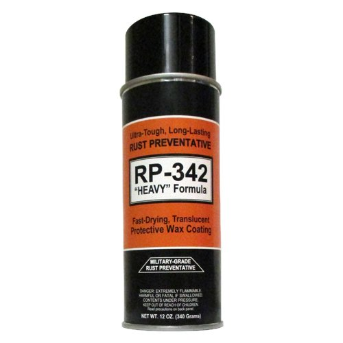 Cosmoline RP-342 ''Heavy'' Rust Preventative Spray (Military-Grade) 1-Can by RP Military-Grade Rust Preventatives
