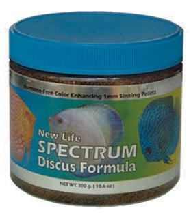 New Life Spectrum 62013 Discus Formula-1mm Sinking Pellets, 125g