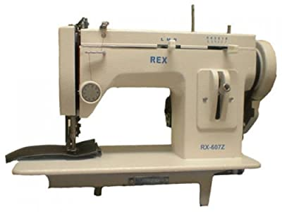 REX 607Z Walking Foot Sewing Machine with LED light