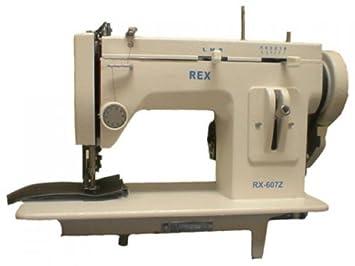 Amazon.com: REX 607Z Máquina de coser portable, con ...