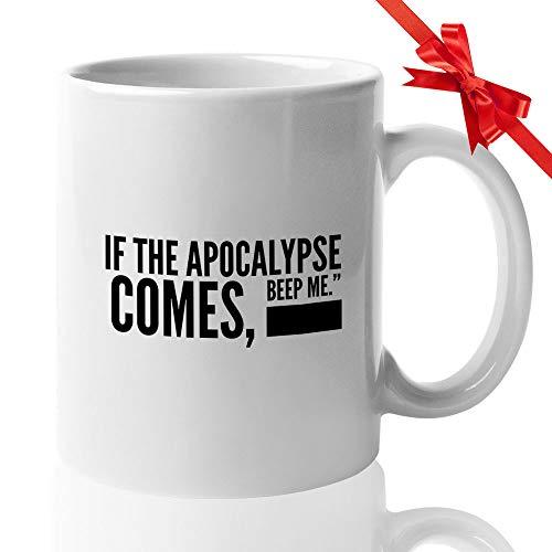 Buffy Halloween Quotes (Buffy Slay Day Coffee Mug 15 Oz - Vampire Slayer Ceramic Novelty Tea Cup - Be Strong - Quote Gift Idea For Halloween Present Birthday Xmas Home)