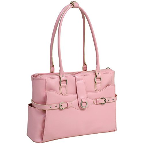 Mcklein Italian Briefcase (McKleinUSA WILLOW SPRINGS 96569 Pink Leather Ladies' Briefcase)