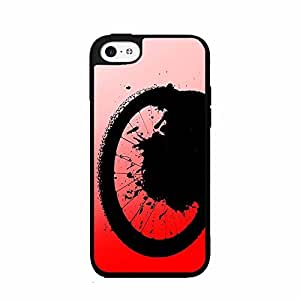 Bike Tire 2-Piece Dual Layer Phone Case Back Cover iPhone 6 4.7 includes diy case Cloth and Warranty Label