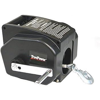 Amazon com: Master Lock Electric Winch, Portable 12-Volt DC