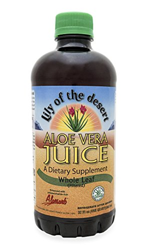 Lily of the Desert Aloe Vera Whole Leaf Juice, 32 Ounce
